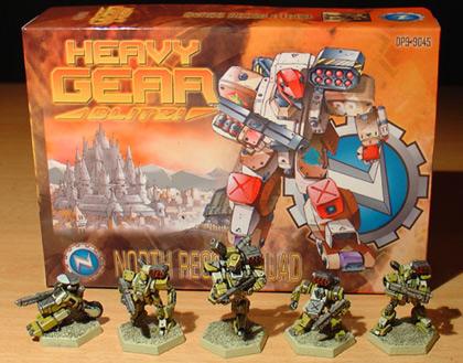 Heavy Gear Blitz Starter Set Heavy Gear Blitz Rulebook