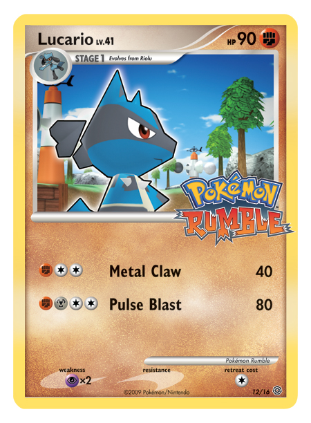 Preview of 'Pokemon Trading Card Game: Rumble' -- Page 4