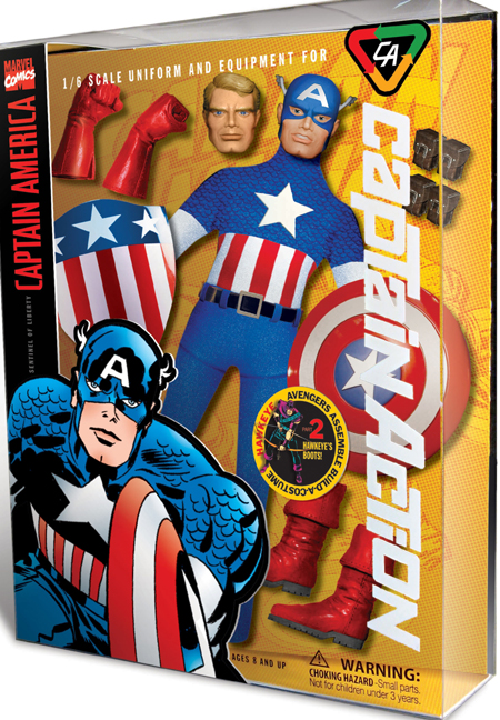CAPTAIN ACTION - MARVEL/DC 19626CA_CaptainAmerica_LG
