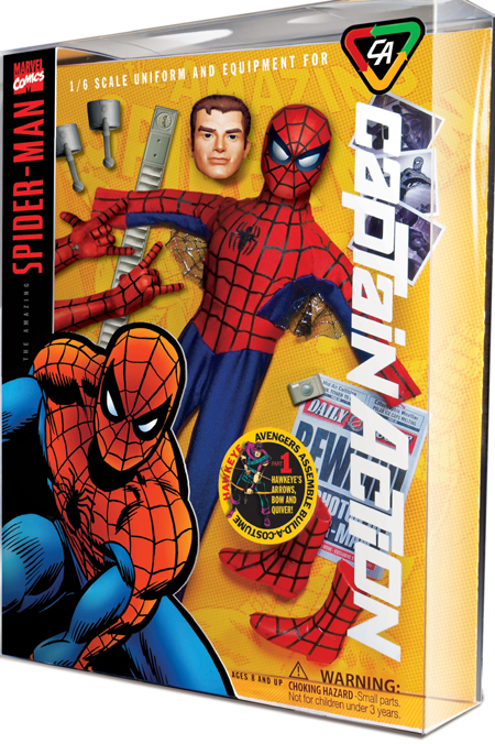 CAPTAIN ACTION - MARVEL/DC 19626CA_Spider-Man_LG