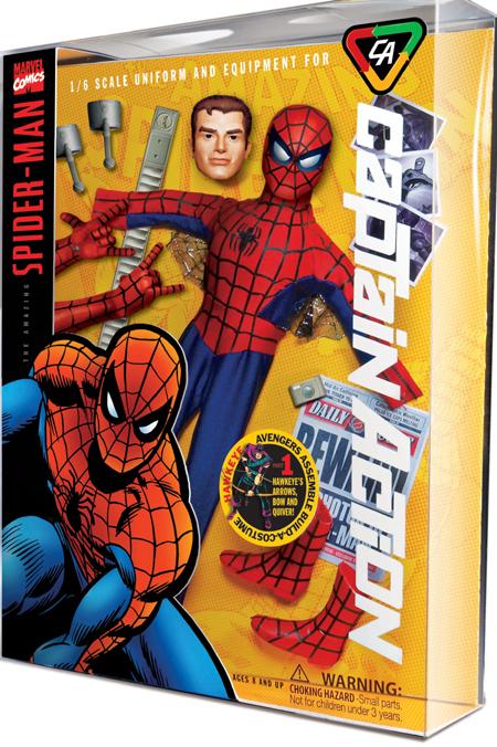 CAPTAIN ACTION - MARVEL/DC 19626CA_Spider-Man_LG
