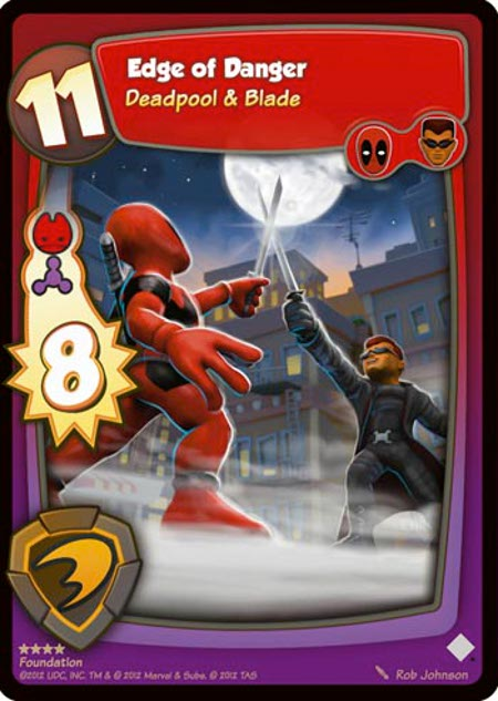 Preview: 'Marvel Super Hero Squad TCG'--Deadpool & Blade