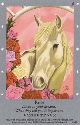 Bella Sara card
