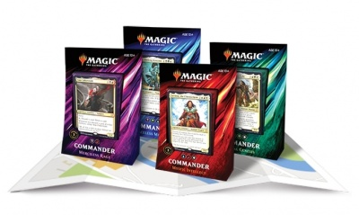 Wizards of the Coast Unveils 'Magic: The Gathering: Commander 2019 Edition' Decks