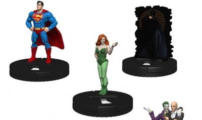 SUPERMAN Comic Book Heroclix Action Figure on Custom ACTION COMICS No.1 Display