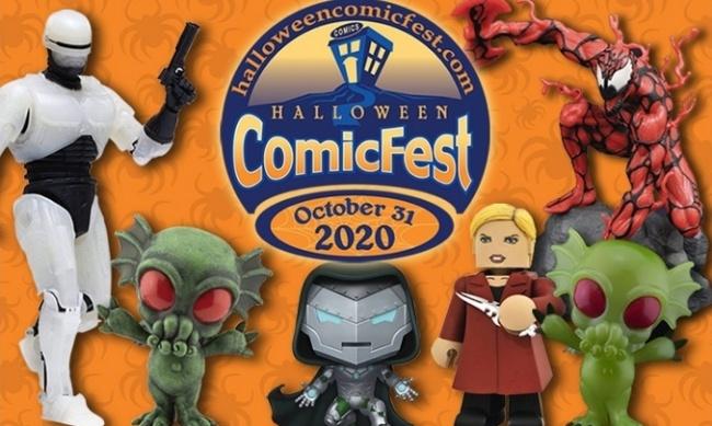 Halloween Figurines 2020 ICv2: Halloween ComicFest 2020 Has Collectible Figures