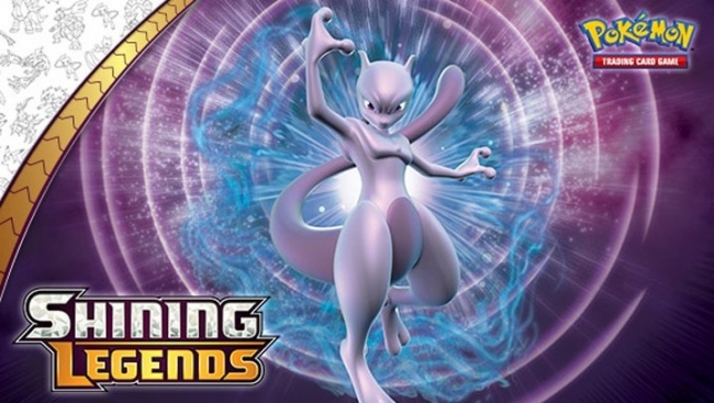 Pokemon Reveals 'Shining Legends' Booster Expansion