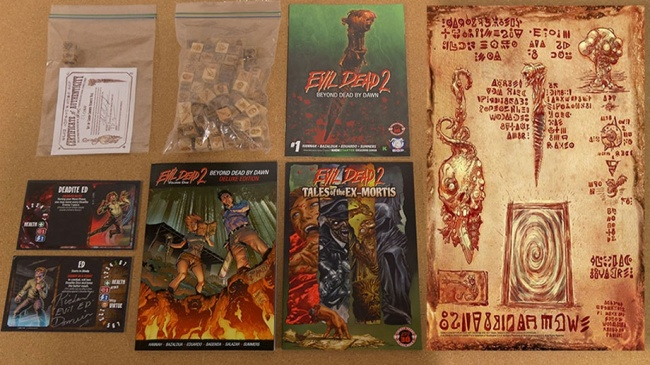 ICv2: Gamerati Auctioning 'Evil Dead 2' Merch