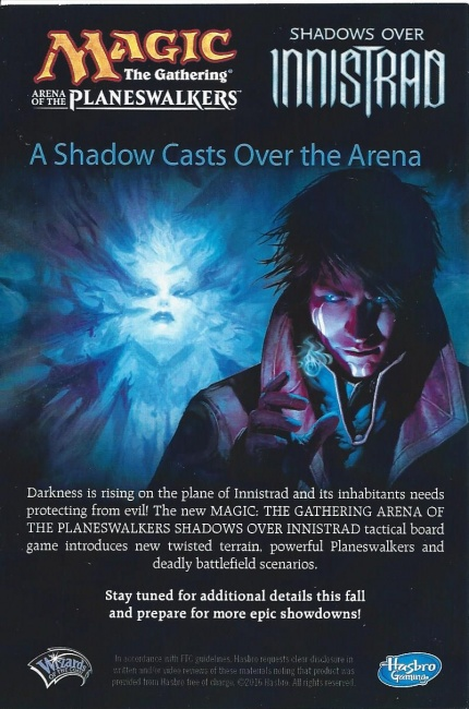 ICv2: 'Shadows Over Innistrad' for 'Magic' Board Game Planeswalker Arena Expansion