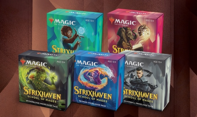 ICv2: Wizards of the Coast Updates Release Information for 'Magic: The  Gathering' 'Strixhaven: School of Mages'