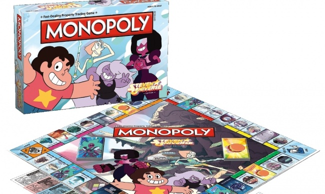 NEW Monopoly Steven Universe Edition Board Game USAopoly