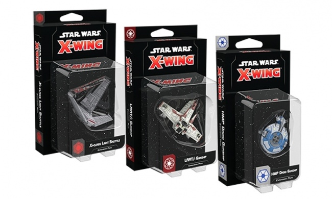 ICv2: Fantasy Flight Games Unveils Three 'X-Wing' Expansions