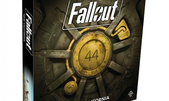 Fallout new california board game release
