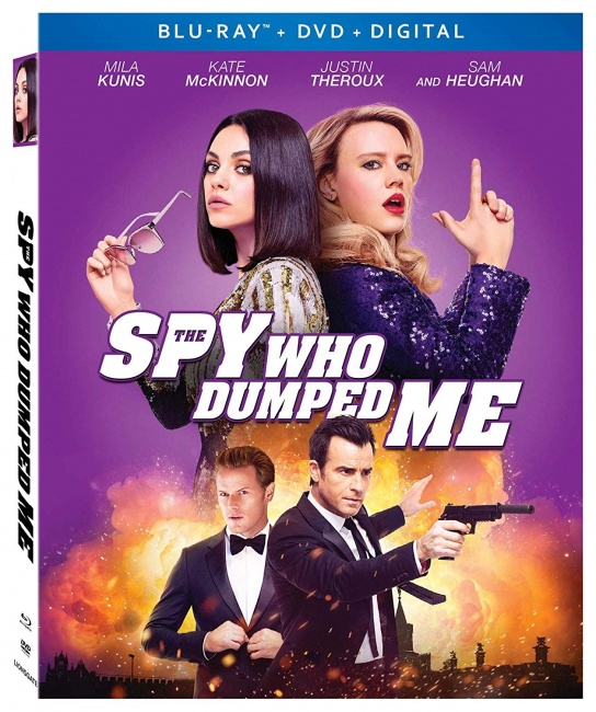 Icv2 Dvd Round-Up Teen Titans Go To The Movies, The Spy Who Dumped Me -7974