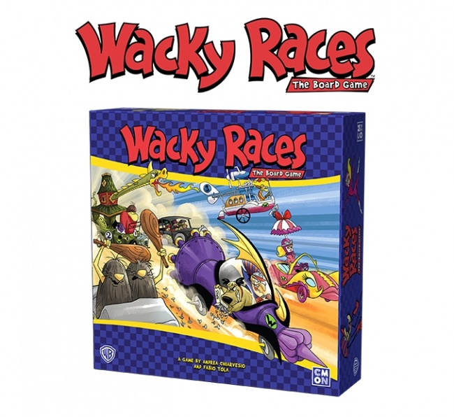 The aptly-named 1960's cartoon Wacky Races will soon be reincarnated in game  form when CMON releases Wacky Races: The Board Game early next year, ...