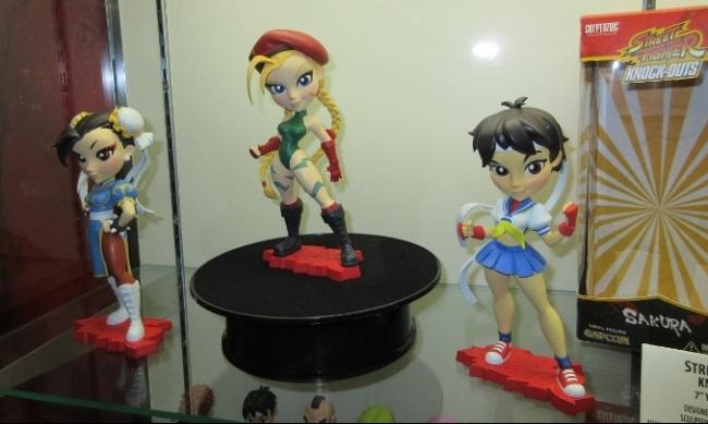 CRYPTOZOIC Street Fighter Knockouts SERIES 1 Vinyl Figure CAMMY// SAKURA// CHUN-LI