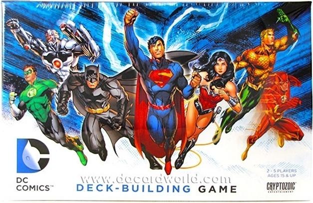 Cryptozoic Deck Building Games