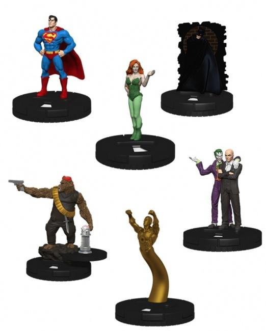 Free Comic Book Day Heroclix: ICv2: New Year Brings Multiple Batman / Superman 'Heroclix