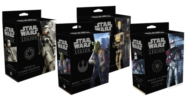Star Wars Légion Expansion-Imperial Stormtroopers Upgrade expantion