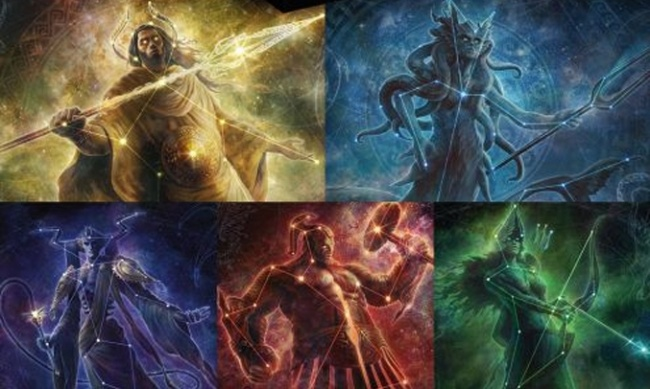 Wizards of the Coast Drops Five More 'Magic: The Gathering' 'Secret Lair' Sets Featuring 'Theros' Gods
