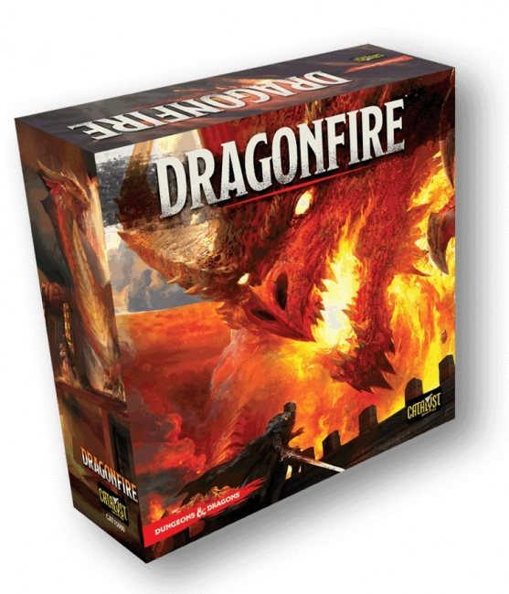 Image result for dragonfire deck building game