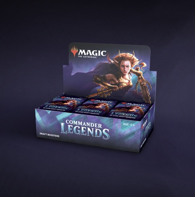 ICv2: Wizards of the Coast Drops Deets on 'Commander Legends' Product Line