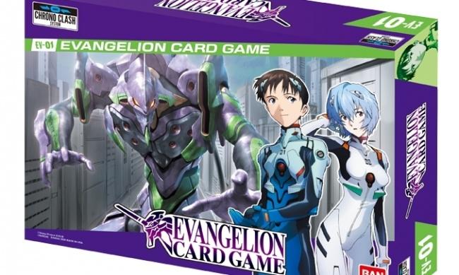 Bandai Reveals 'Evangelion Card Game'