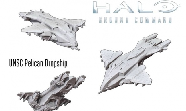 ICv2: Massive Dropship Models for 'Halo: Ground Command'
