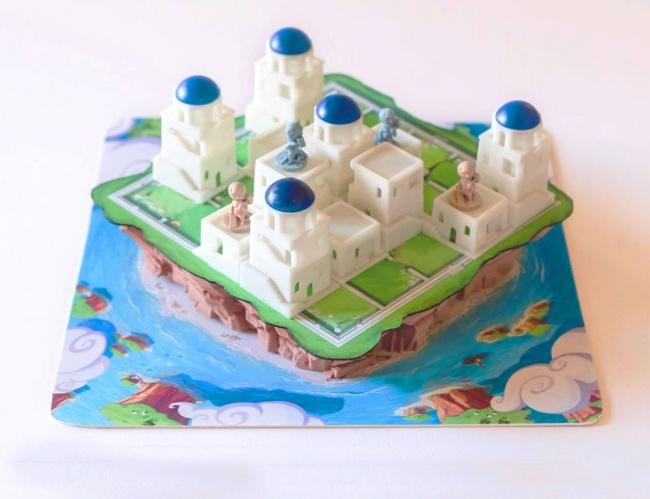 ICv2 Build a 3D City in Santorini