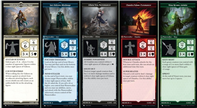 MSE - Easy Army Card Creator (V2.5) (New Glyph Cards ... Planeswalker Arena Expansion