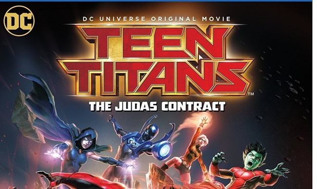 Icv2 Dvd Round-Up Teen Titans The Judas Contract, Split, Killjoys, Sailor -7965